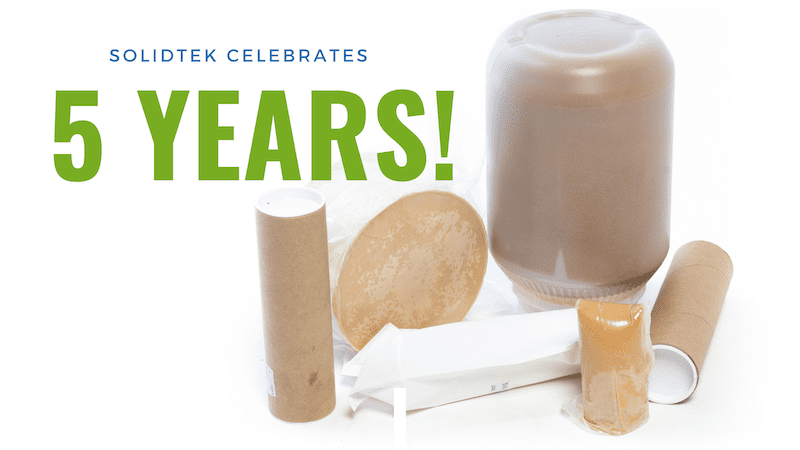 SolidTek™ celebrates 5 year anniversary